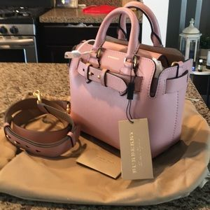 NWT Burberry Belt Bag Ash Rose